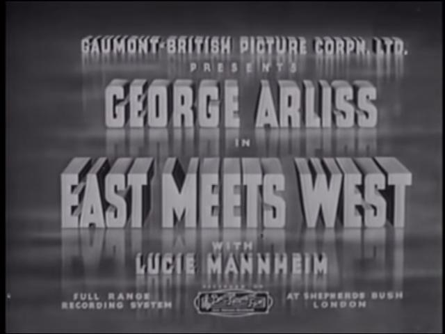 East Meets West (1936)