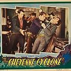 Yakima Canutt, Lane Chandler, Edward Hearn, and Slim Whitaker in The Cheyenne Cyclone (1931)