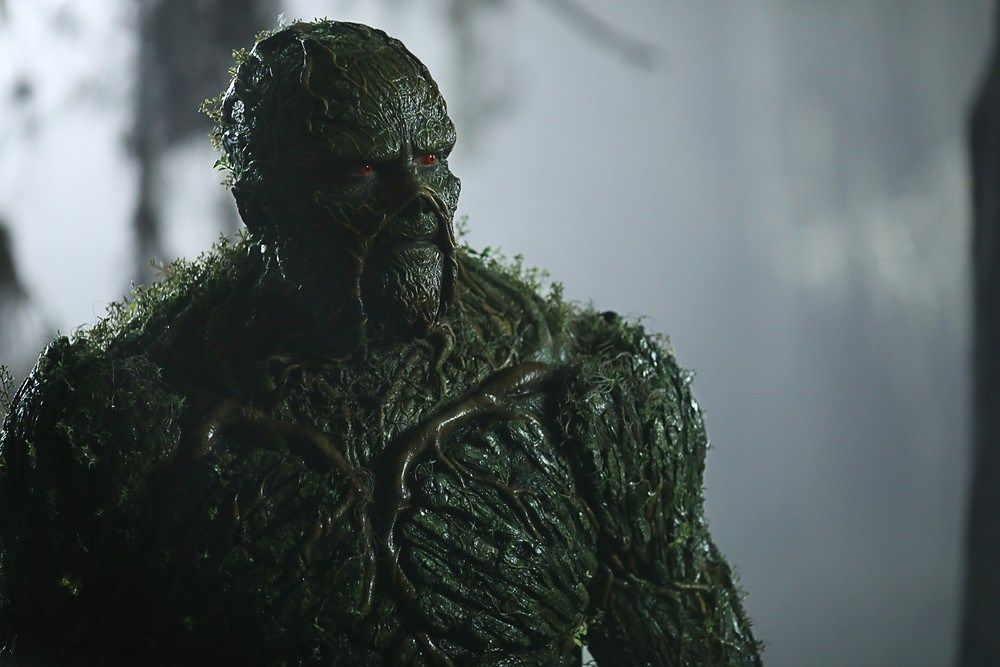Derek Mears in Swamp Thing (2019)