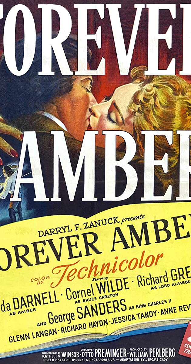 Subtitle of Forever Amber