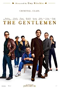 Matthew McConaughey, Hugh Grant, Colin Farrell, Charlie Hunnam, Jeremy Strong, Michelle Dockery, and Henry Golding in The Gentlemen (2019)