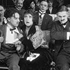 Charles Chaplin, Charley Chase, and Mabel Normand in Tillie's Punctured Romance (1914)