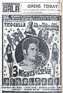Three Nights of Love