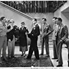 Cornelius Keefe, LeRoy Mason, J. Carrol Naish, George O'Brien, Charles Sherlock, Claire Trevor, and Max Wagner in The Last Trail (1933)