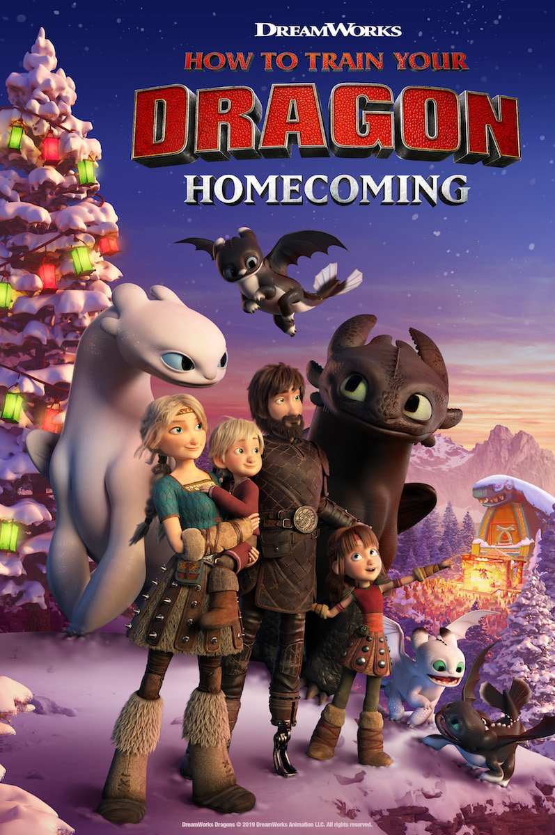 KAIP PRISIJAUKINTI SLIBINĄ. GRĮŽIMAS NAMO (2019) / How to Train Your Dragon Homecoming