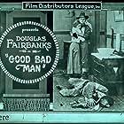 Douglas Fairbanks, Sam De Grasse, and Bessie Love in The Good Bad-Man (1916)