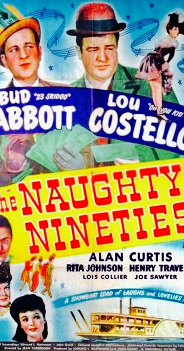 Subtitle of The Naughty Nineties