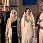 Robert Miano, Thaao Penghlis, Hadeel Sittu, and Jen Lilley in The Book of Esther (2013)
