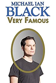 Michael Ian Black: Very Famous Poster