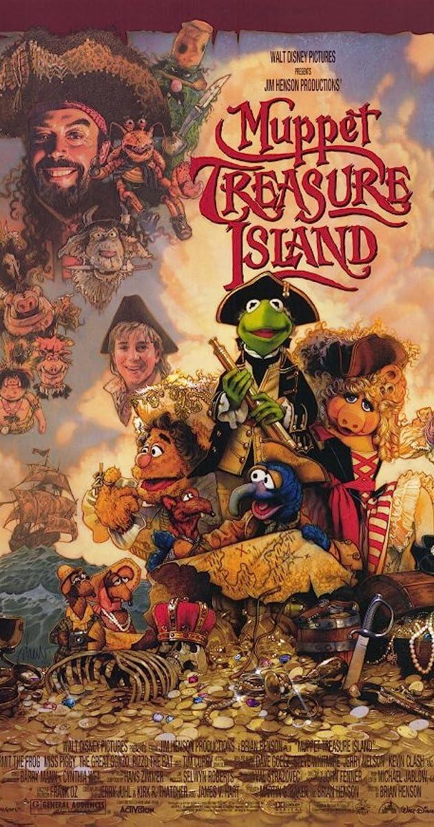 Subtitle of Muppet Treasure Island