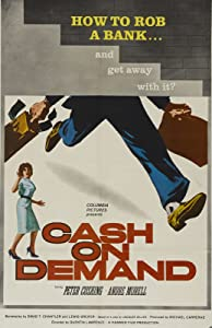 Watch online the international movie Cash on Demand by Guy Green 2160p]