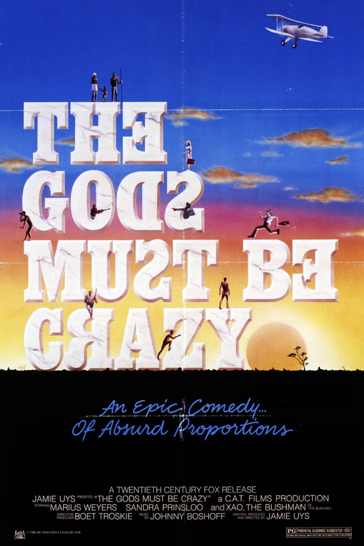ดูหนังออนไลน์ The Gods Must Be Crazy (1980)