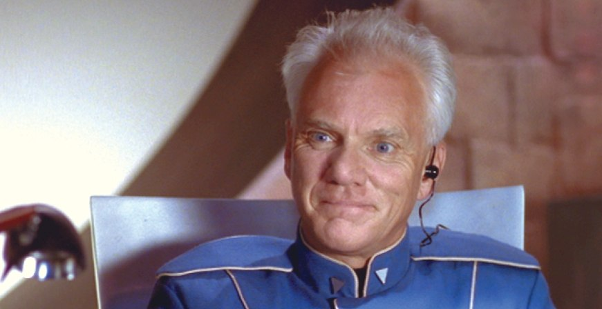Malcolm McDowell in Wing Commander IV: The Price of Freedom (1995)