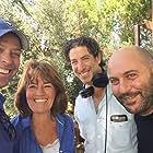 Jane Corbin, Lior Raz, Oren Rosenfeld, and David Blumenfeld in The Real Fauda (2018)