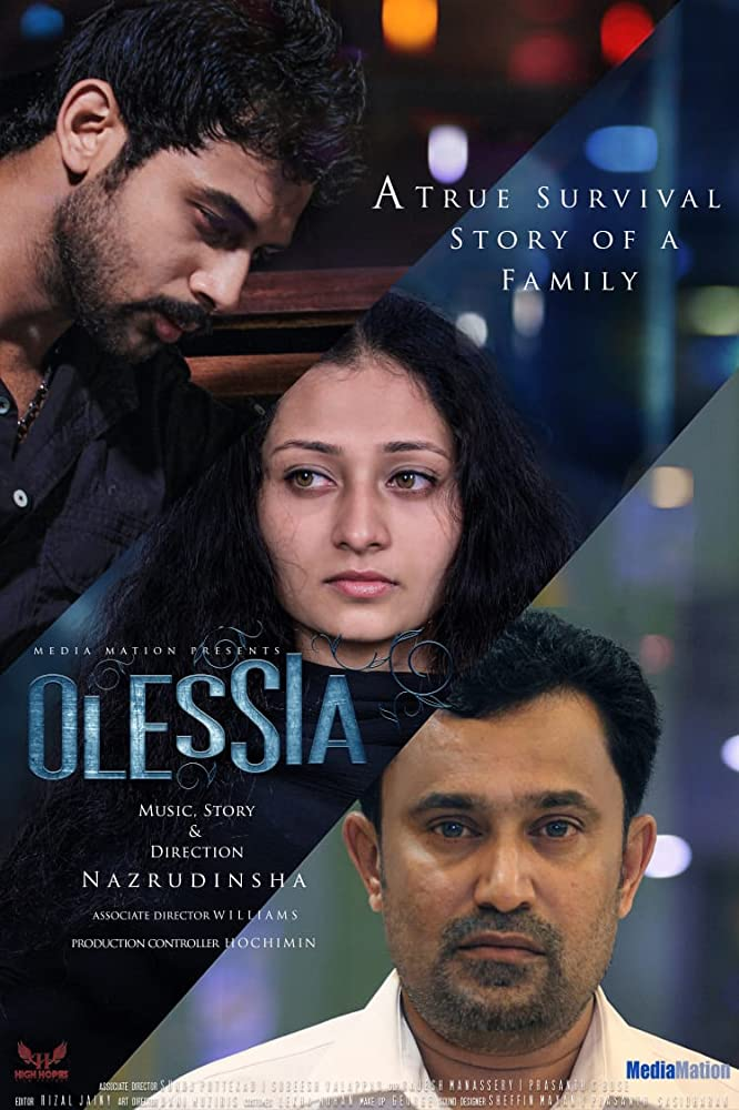 Olessia 2019 Malayalam Movie 400MB HDRip ESub