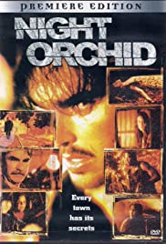 Night Orchid Poster