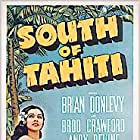 Broderick Crawford, Brian Donlevy, Andy Devine, and Maria Montez in South of Tahiti (1941)