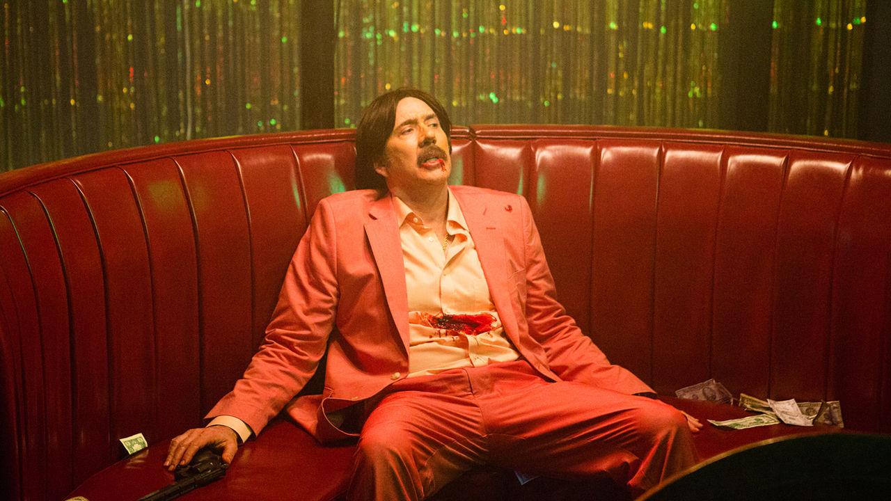 Nicholas Cage dalam film Arsenal.
