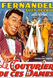 Fernandel the Dressmaker Poster