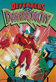 Defenders of Dynatron City Poster