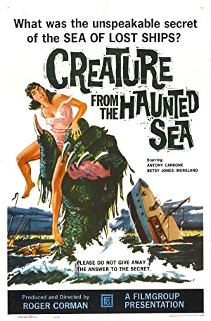 Where to stream Creature from the Haunted Sea