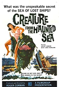 Primary photo for Creature from the Haunted Sea