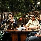 Nemanja Rafailovic, Jovana Milovanovic, Lazar Nikolic, and Stefan Vukic in Preziveti Beograd (2019)