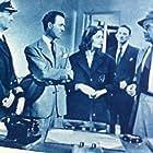 Anouk Aimée, Michael Denison, Richard Greene, Richard Warner, and John Welsh in Contraband Spain (1955)