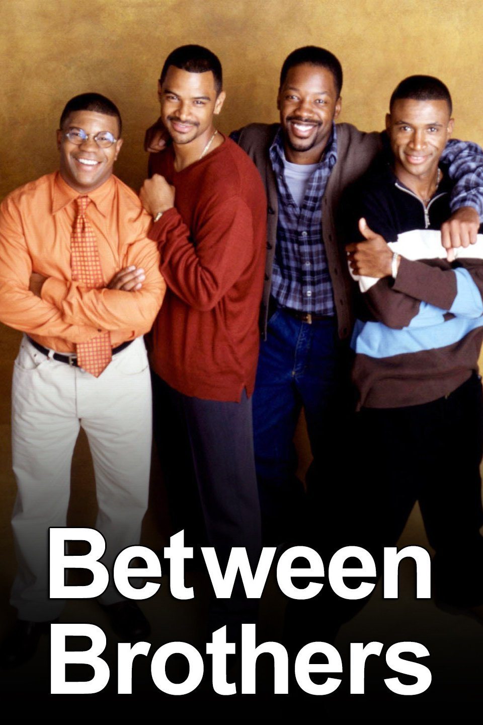 Tommy Davidson, Kadeem Hardison, Kelly Perine, and Dondré T. Whitfield in Between Brothers (1997)