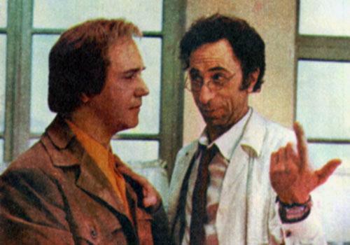 Leonid Kuravlyov and Ilya Rutberg in Ty - mne, ya - tebe (1977)