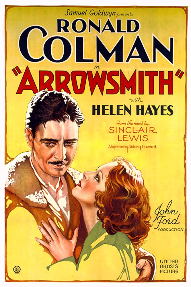 Ronald Colman and Helen Hayes in Arrowsmith (1931)