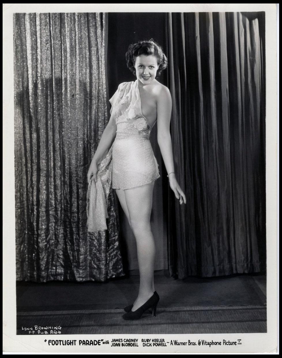 Lynn Browning in Footlight Parade (1933)
