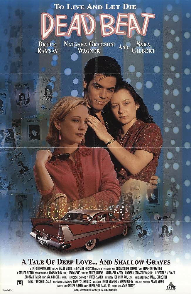 Sara Gilbert, Bruce Ramsay, and Natasha Gregson Wagner in Dead Beat (1994)