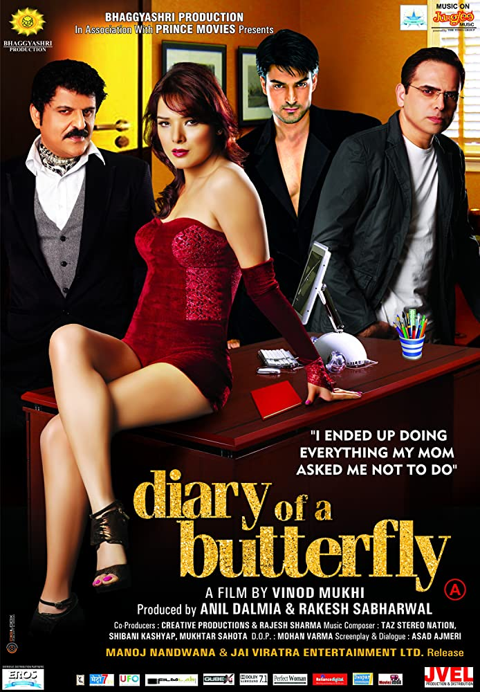 Diary of a Butterfly (2012) Hindi