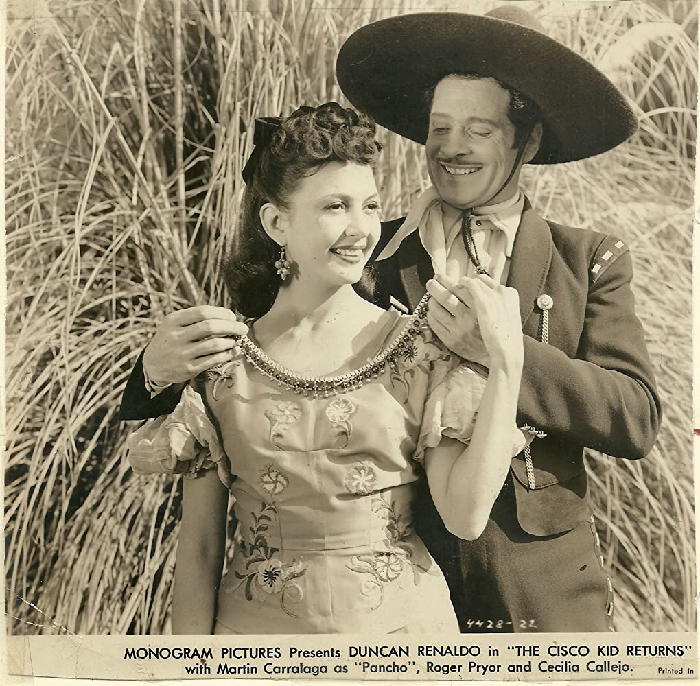Cecilia Callejo and Duncan Renaldo in The Cisco Kid Returns (1945)