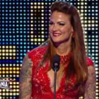 Amy Dumas in WWE Hall of Fame (2014)