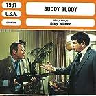 Jack Lemmon, Walter Matthau, Klaus Kinski, and Paula Prentiss in Buddy Buddy (1981)