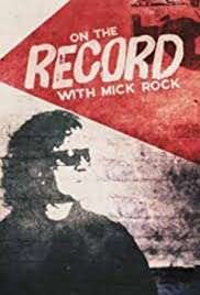 On the Record with Mick Rock Poster