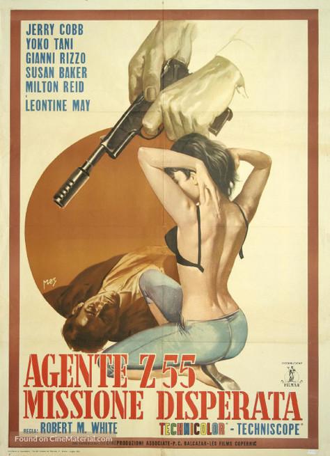 Roberto Bianchi Montero, Germán Cobos, Gianni Rizzo, and Yôko Tani in Agente Z 55 missione disperata (1965)