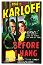 Before I Hang (1940) Poster