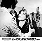 Josephine Chaplin and Maurice Ronet in L'odeur des fauves (1972)