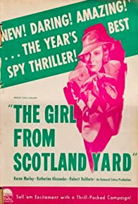 Primary photo for The Girl from Scotland Yard