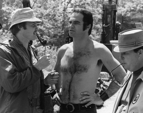 Burt Reynolds, Jon Voight, and Ned Beatty in Deliverance (1972)