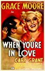 When You're in Love (1937) Poster
