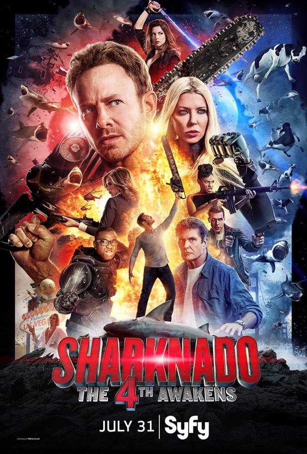 Sharknado 4 Türkçe Dublaj Seçenekli - 3D Film indir
