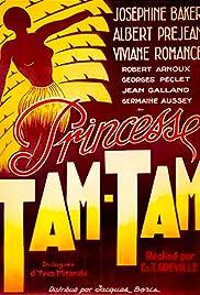 Princesse Tam-Tam Poster