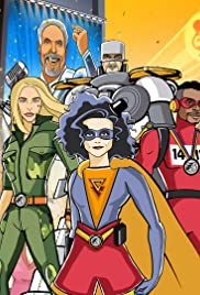 Superheroes Unite for BBC Children in Need Poster