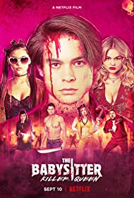 Robbie Amell, Bella Thorne, Hana Mae Lee, Emily Alyn Lind, Andrew Bachelor, Jenna Ortega, and Judah Lewis in The Babysitter: Killer Queen (2020)