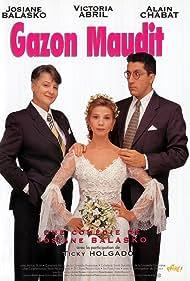 Victoria Abril, Josiane Balasko, and Alain Chabat in Gazon maudit (1995)