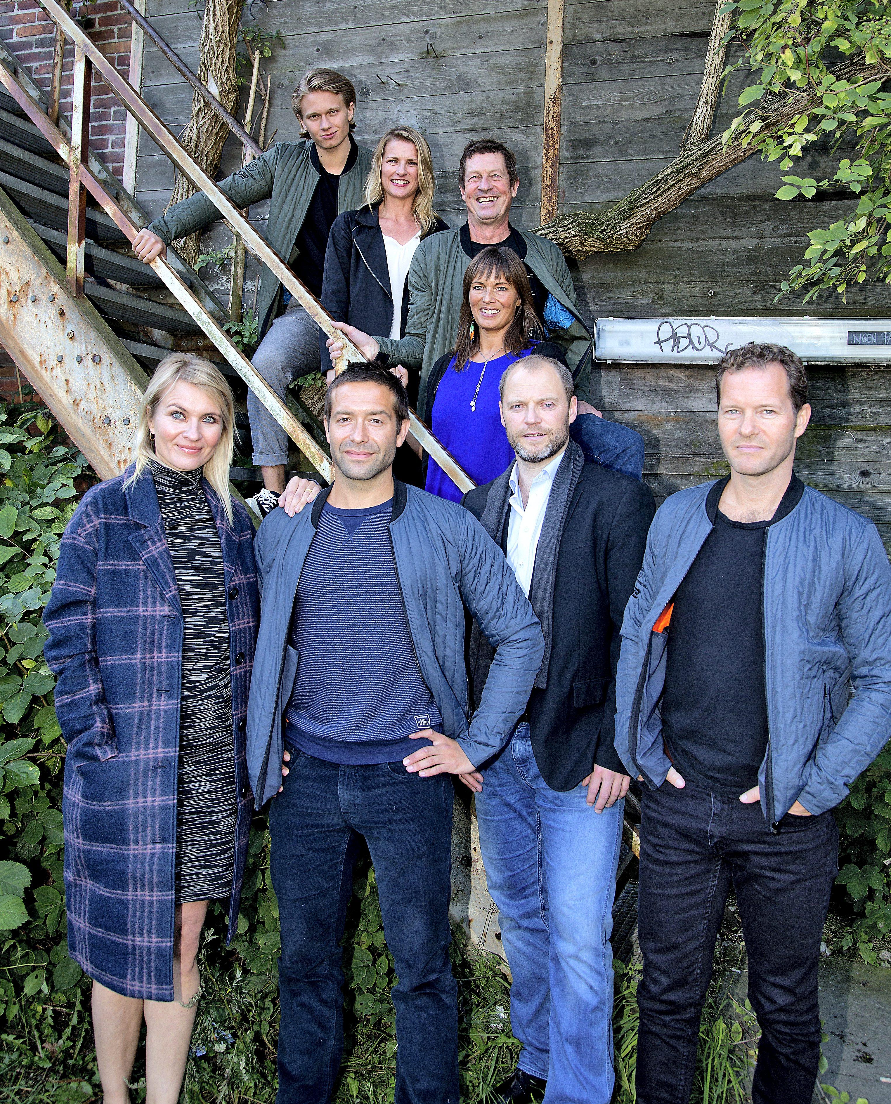 Annemette Andersen, Henrik Birch, Thomas Levin, Mette Marckmann, Claus Riis Østergaard, Anne Sofie Espersen, Jacob Lohmann, and Mathias Käki Jørgensen in Norskov (2015)